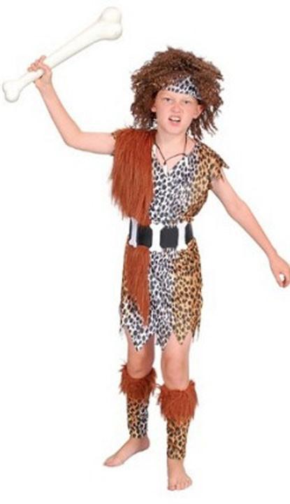 Hulemand Udklædning Indianer Kostumer til Børn