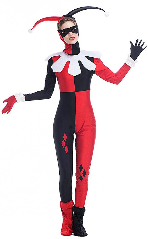 Halloween Suicide Squad Harley Quinn Kostume Voksne
