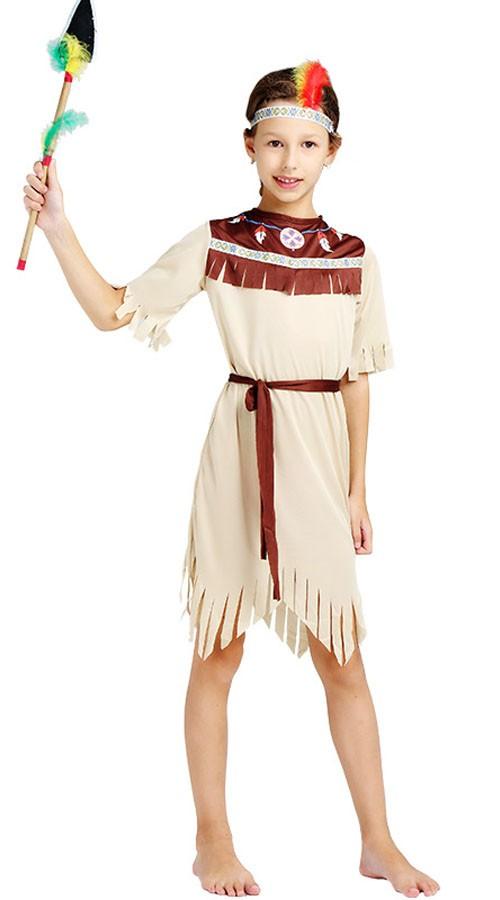 f98024948a0d Udklædning Voksne Indianer Kostume til Pige
