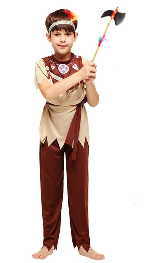 1223eb171ec9 Udklædning Voksne Indianer Kostume til Dreng