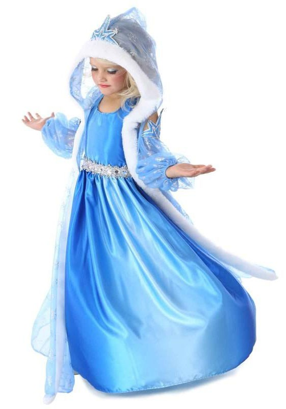 Kjole Børn Frost Kostume Elsa Prinsesse CPz6tqw