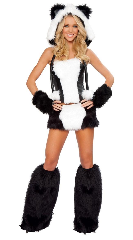 17e8d9c62158 Frække Panda Kostume Halloween Kostumer