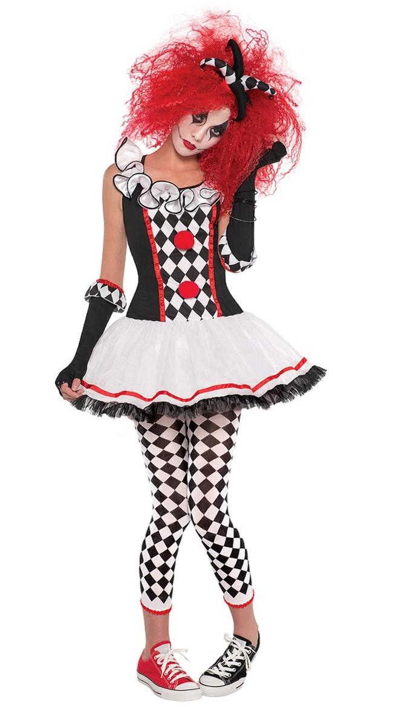 Harley Quinn Kostume Honning Klovne Kostume