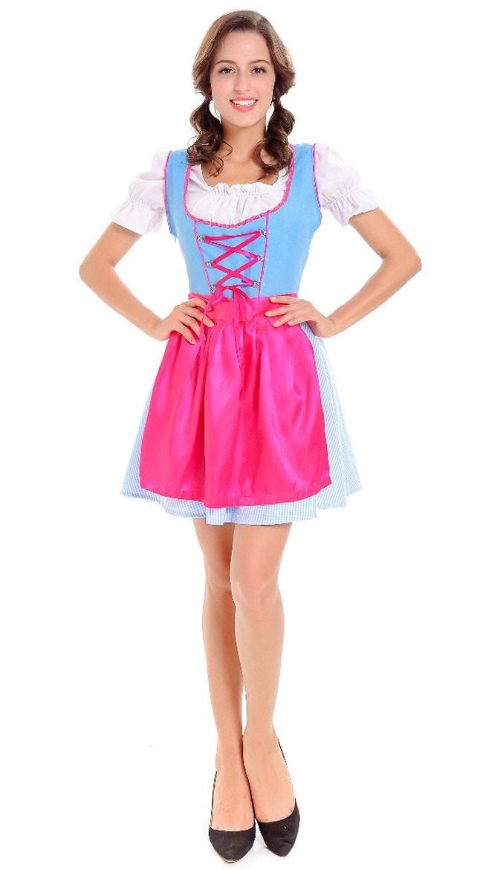 Oktoberfest Dirndl Tyrolerkjole Dirndl Oktoberfest Oktoberfest Kostume Rosa Kostume Dirndl Tyrolerkjole Tyrolerkjole Kostume Rosa zqrzxwOnv