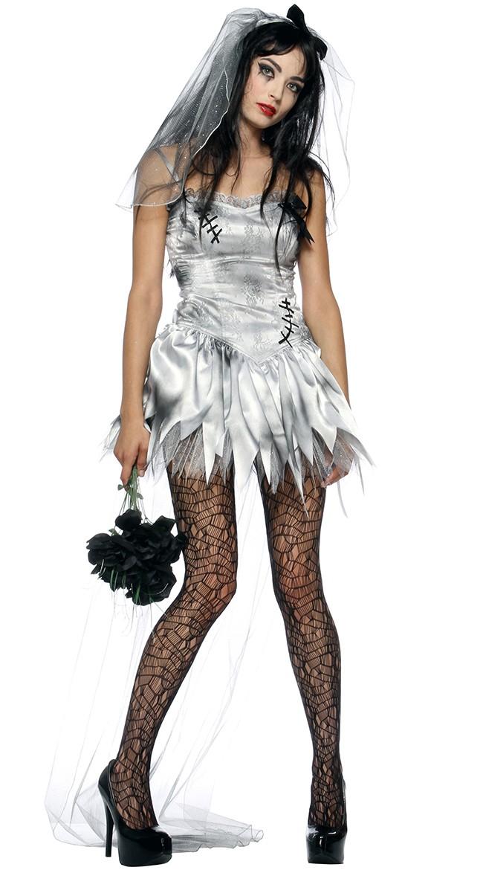 Dødens Zombie Brud Kostume 58deae1239a5a