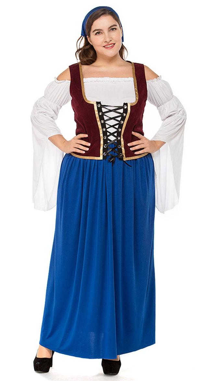 Størrelser tyroler tøj store Oktoberfest kostumer