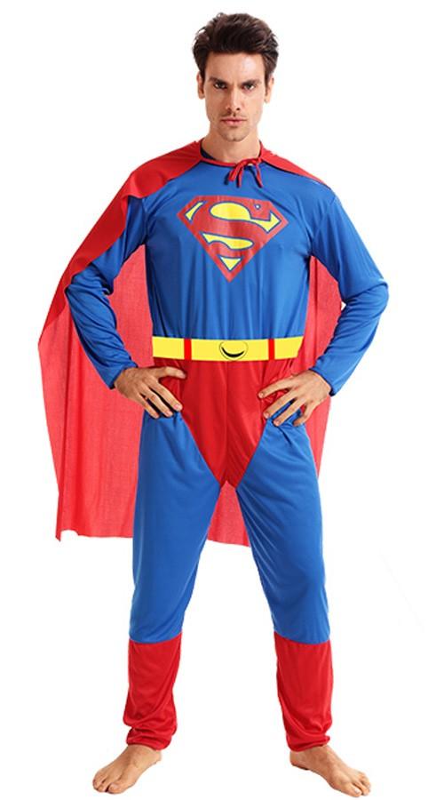 Klassisk Superman Kostume til Voksen