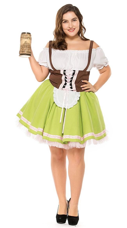 Gretchen Kostume Store Størrelser Kvinder Tysk Tyroler N0vmn8w