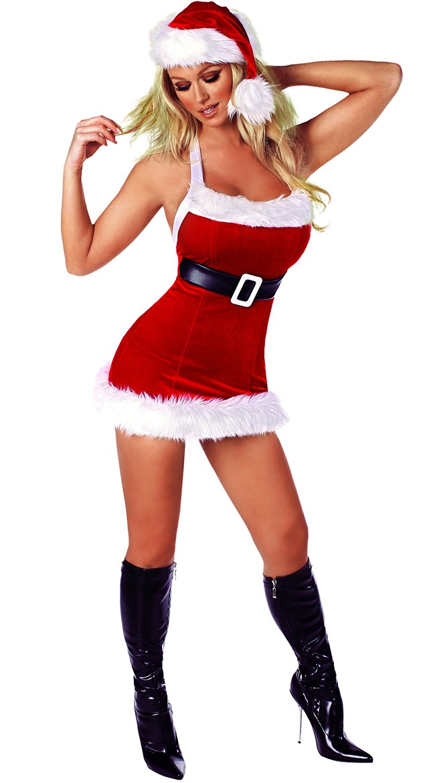 a1c7dfadc3a Chic Frække Jule Kostumer til Kvinder