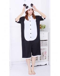 Kortærmet Panda Kigurumi Cosplay Pyjamas