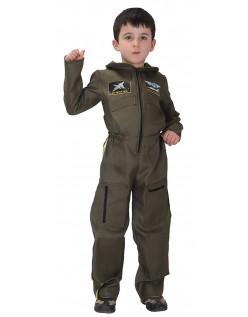 Børnekostume Top Gun Jagerpilot Kostume