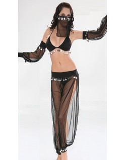 Araber Mavedanser Kostume Sort