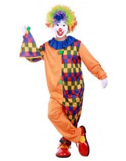 Voksne Klovne Kostume Klæde Sig Til Halloween Karneval