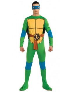 Klassisk Ninja Turtles Leonardo Kostume