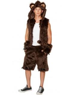 Dyrekostumer Furry Fox Kostume Til Mænd Brun