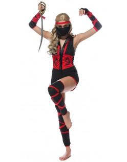Hård Dragen Ninja Kostume Til Kvinder
