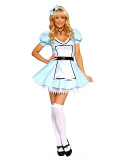 Alice i Eventyrland Søde Alice Kostume