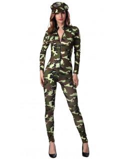 Temmelig Faldskærmssoldat Kostume Frække Army Kostume