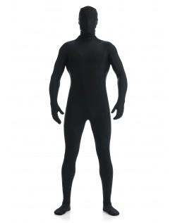 Mænd Lycra Spandex All Inclusive Skinsuit Sort