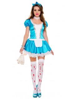 Vende Tilbage Til Wonderland Alice Kostume