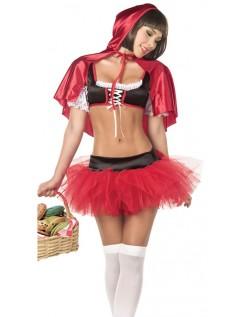 Frække Hættetrøje Lille Rødhætte Kostume