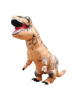 Oppustelig T-Rex Kostume til Voksne og Børn