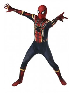 Avengers 3 Homecoming Spiderman Kostume Børn