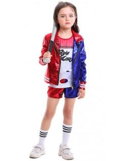 Børn Harley Quinn Kostume Suicide Squad Tøj Sæt