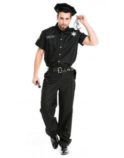 Politimand Kostume Til Mænd