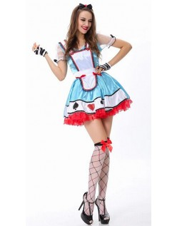 Ud Over Alice i Eventyrland Kostume
