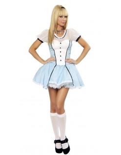 Victorian Alice i Eventyrland Kostume