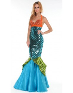 Deluxe Vandmanden Havfrue Kostume