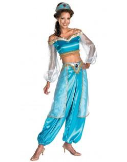 Aladdin Prinsesse Jasmine Sassy Prestige Kostume Voksne