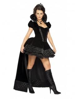 Halloween Kostumer Sorte Ond Dronning Kostume