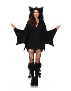 Halloween Villain Vampyr Bat Kostume