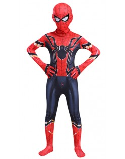 Iron Spiderman Kostume til Barn Avengers Infinity War