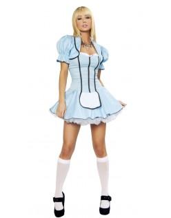 Alice i Eventyrland Charmerende Alice Kostume