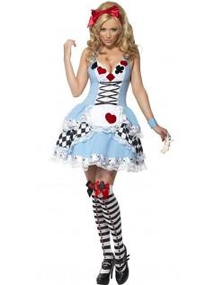 Alice i Eventyrland Nuttet Frøken Alice Kostume