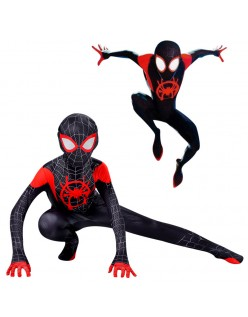 Spiderman Kostume Voksne Barn Spider Man Into the Spider Verse