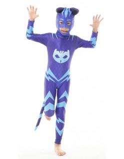 Børnekostume Pj Masks Catboy Kostume Med Hale