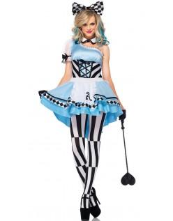 Alice i Eventyrland Psychedelic Alice Kostume