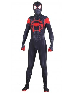 Spiderman Kostume Spider Man Into the Spider Verse Voksne