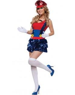 Blok Hoppe Blikkenslager Kostume Super Mario Kostume