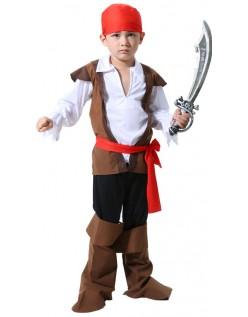 Børn Pirat Jack Halloween Kostume Drenge
