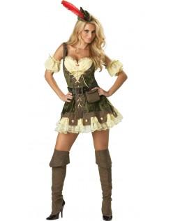Middelalderlig Sexet Krati Robin Hood Kostume