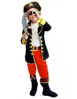 Kaptajn Jack Halloween Pirat Kostume Til Børn