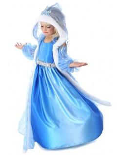 Frost Kostume Prinsesse Elsa Kjole Børn