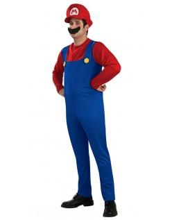 Super Mario Bros Mario Kostume til Voksne