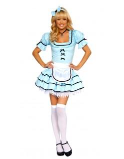 Alice i Eventyrland Ser Glas Alice Kostume