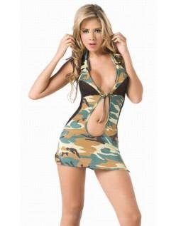 Frække Army Kostume Frække Militær Kostume